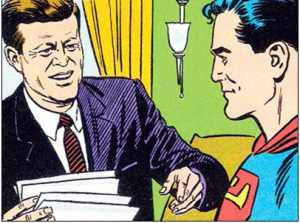 Superman and JFK