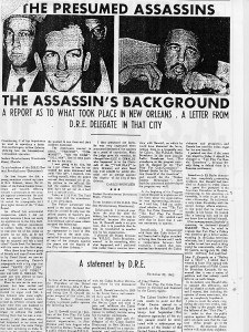 First JFK Conspiracy Theory
